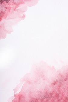 Powierzchnia pokryta artystyczną farbą akwarelową