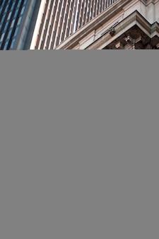 Powierzchowność budynek w boston, massachusetts, usa