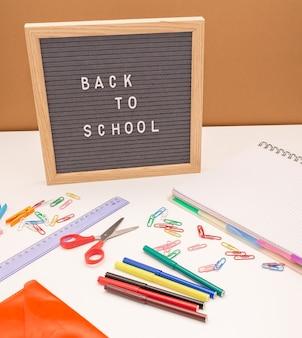 Powrót do koncepcji szkoły na przyborach do tablic