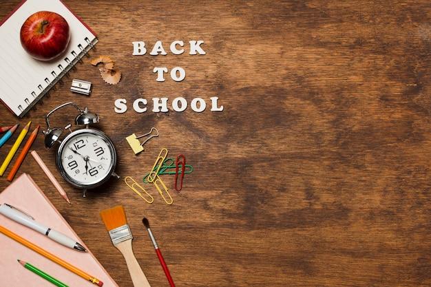 Powrót do miejsca na przybory szkolne