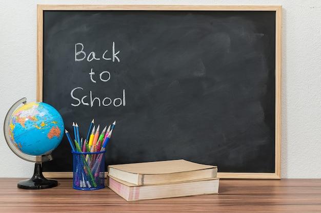 Powrót do szkoły i koncepcji edukacji, aby nauczyć się doskonalić umiejętności
