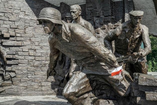 Powstańcy pomnik polskich bojowników powstania warszawskiego w warszawie
