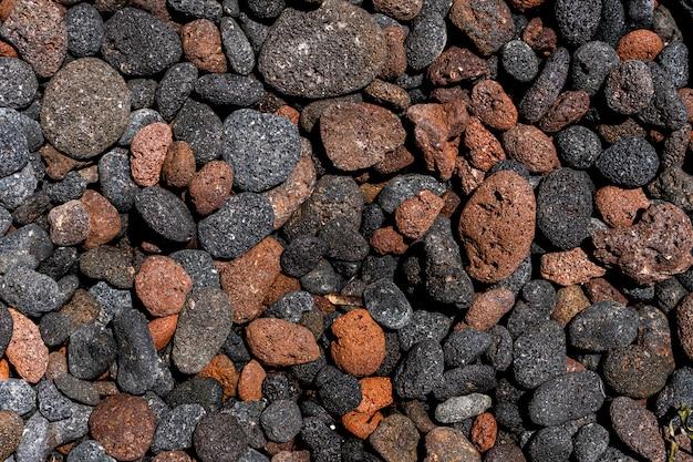 Powulkaniczna rockowa tekstura, pumeksu tekstury kamienny tło
