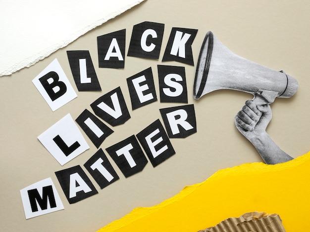 Powyżej widok czarnego życia ma znaczenie