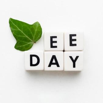 Powyżej zobacz koncepcję dnia edukacji środowiskowej