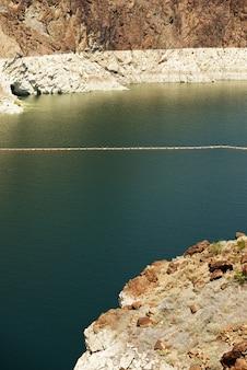 Poziom wody w jeziorze mead