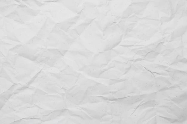 Poziome pomarszczony papier