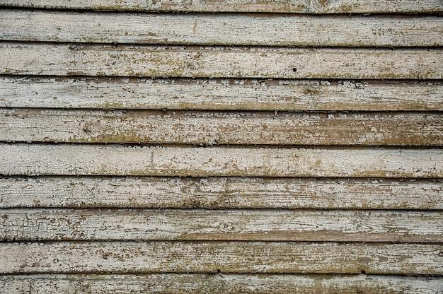 Poziomy stary drewniany tło z naturalnym wzorem