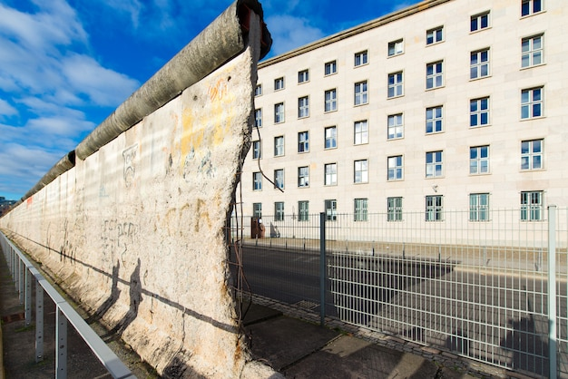 Pozostałości muru berlińskiego