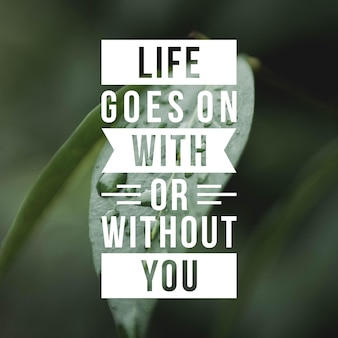 Pozytywny cytat za inspirację i motywację w życiu. wzmocnij swój umysł do wspaniałego myślenia.