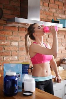 Praca nad sobą wspomagana suplementami diety