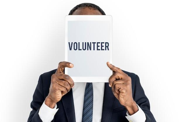 Praca społeczna wolontariusze charytatywna