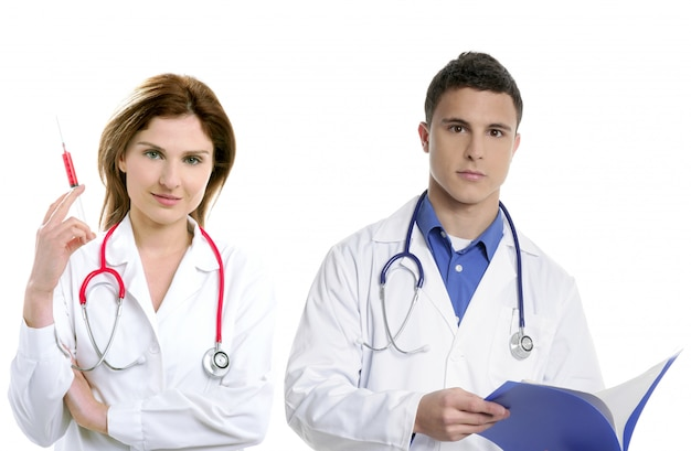 Praca zespołowa lekarzy, pracownicy służby zdrowia