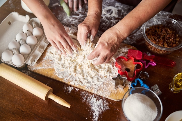 Praca zespołowa w kuchni przyspiesza gotowanie