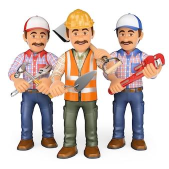 Pracownicy 3d. zespół pracy