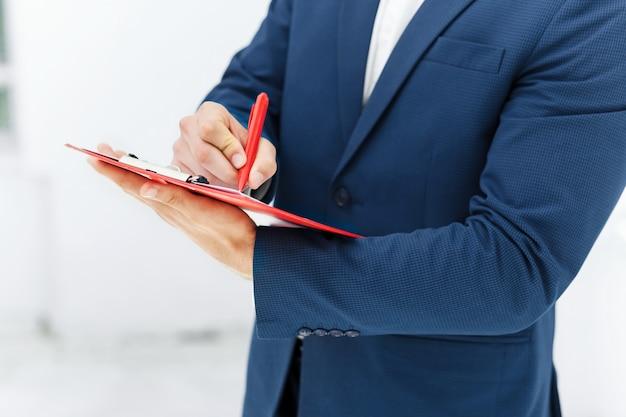Pracownik biurowy mężczyzn