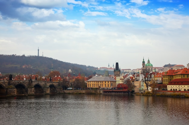 Praga z mostu karola