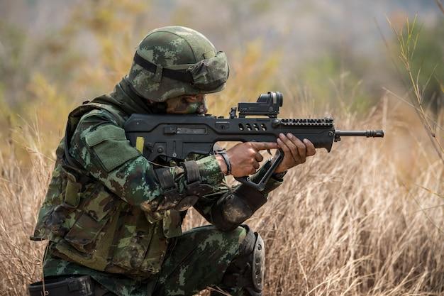 Praktyka żołnierza do patrolowania