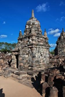 Prambanan jest hinduską świątynią w yogyakarta, jawa, indonezja