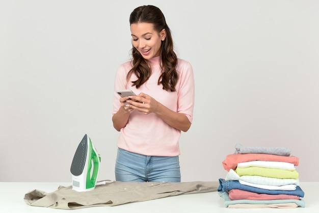 Prasowanie odzieży