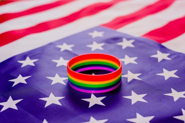 Prawa społeczności lgbt w stanach zjednoczonych stopniowo się poprawiają.