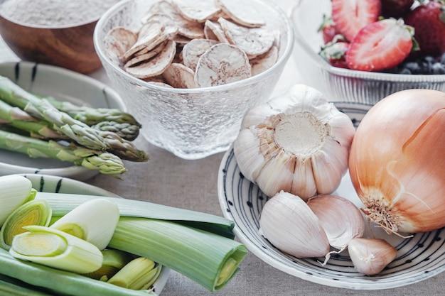 Prebiotyczne pokarmy dla zdrowia jelit