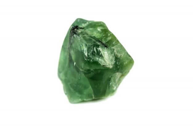 Prehnite mineral na akcesoria przemysłowe izolat
