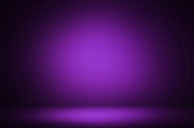 Premium abstrakcyjne ciemnofioletowe luksusowe tło gradientowe