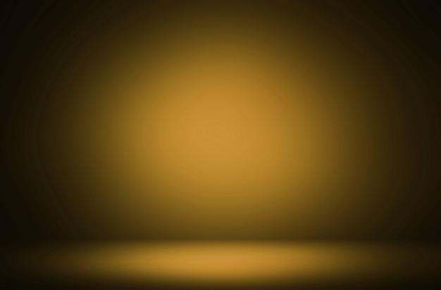 Premium abstrakcyjne pomarańczowe żółte tło gradientowe luksusowe tło