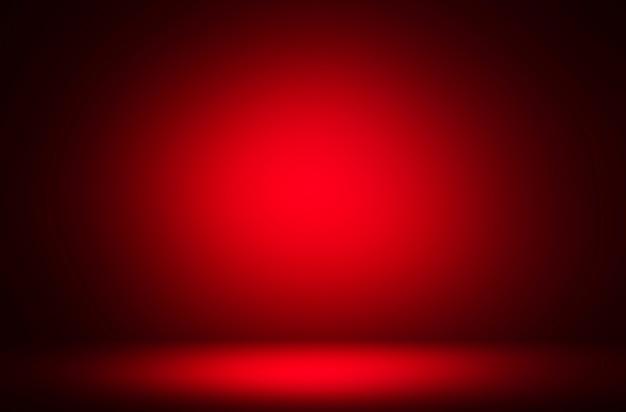 Premium abstrakcyjne tło luksusowego czerwonego gradientu