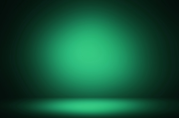 Premium abstrakcyjne tło luksusowego zielonego gradientu