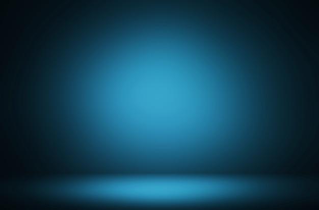 Premium abstrakcyjne tło luksusowych niebieskich gradientów oceanu