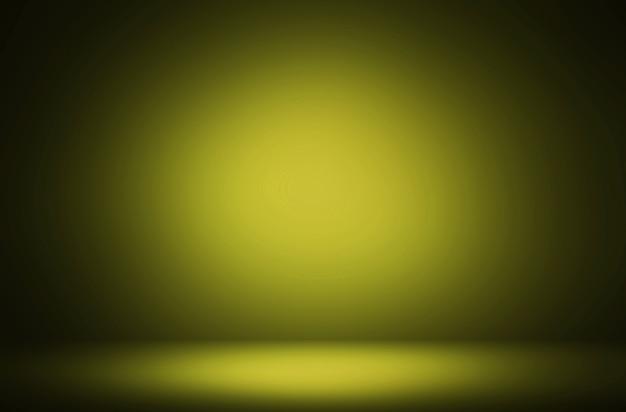 Premium abstrakcyjne zielonkawo-żółte tło luksusowego wyświetlacza gradientowego