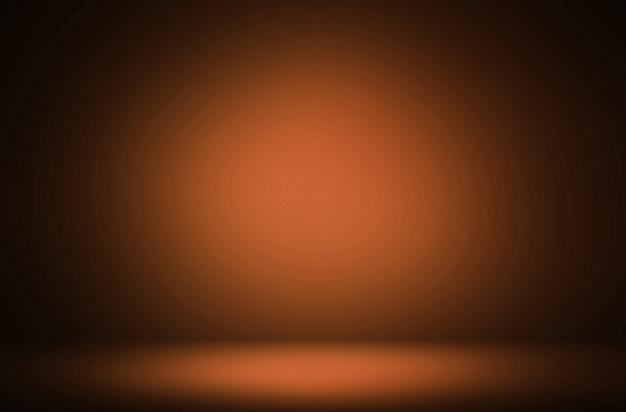 Premium abstrakcyjny pomarańczowy wyświetlacz gradientowy luksusowy tło