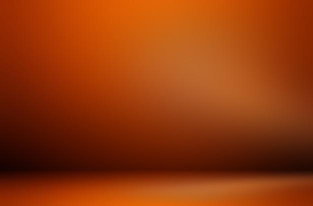 Premium pomarańczowe tło podświetlenia produktu