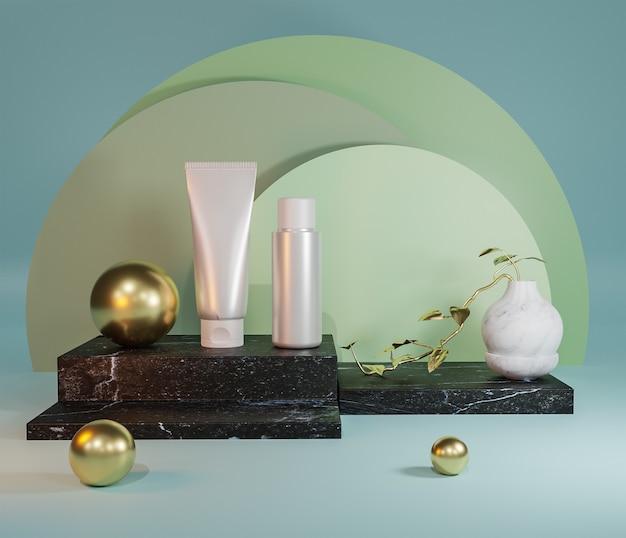 Prezentacja produktów kosmetycznych