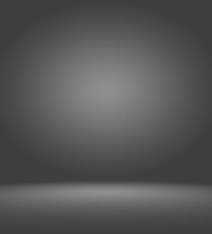 Prezentacja produktów na czarnym tle gradientowym.