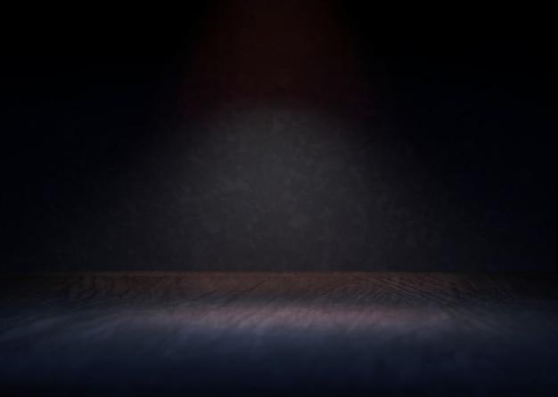 Prezentacja produktów renderowanie 3d w tle reflektorów