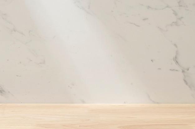 Prezentacja tła produktu z marmuru