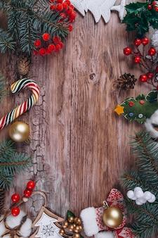 Prezenty świąteczne płasko świeckich