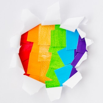 Pride warstwy społeczeństwa dzień papieru