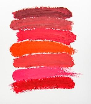 Próbka szminki do makijażu