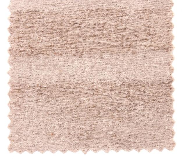 Próbki tekstury beatu z beżowym dywanem