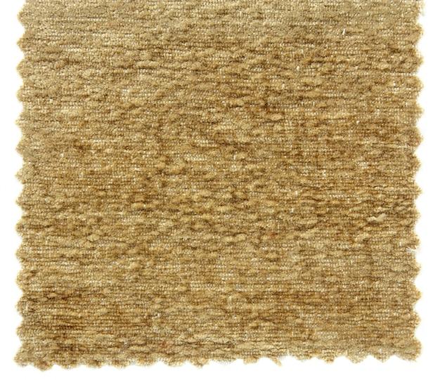 Próbki tekstury próbnej brązowego dywanu