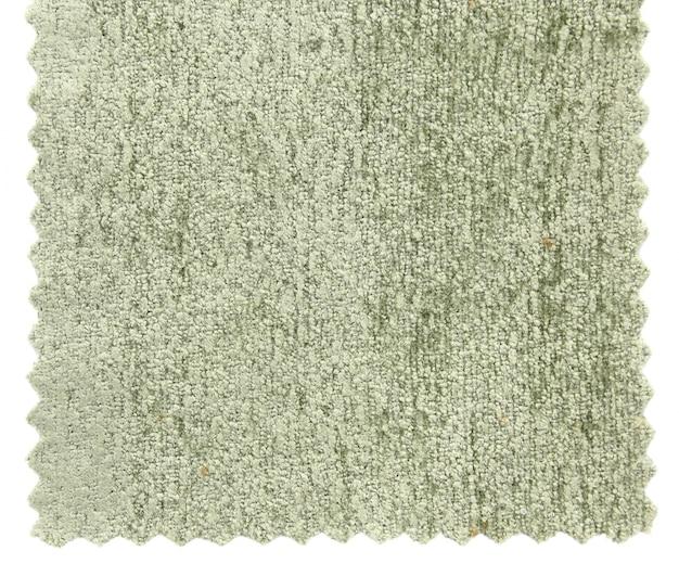 Próbki tekstury próbnej zielonego dywanu