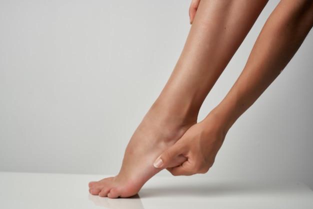 Problemy zdrowotne kontuzji stóp zaburzenia leczenia masażem