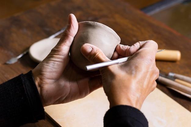 Proces ceramiki pod wysokim kątem