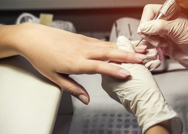 Proces manicure