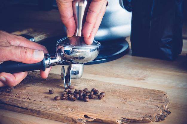 Proces parzenia kawy