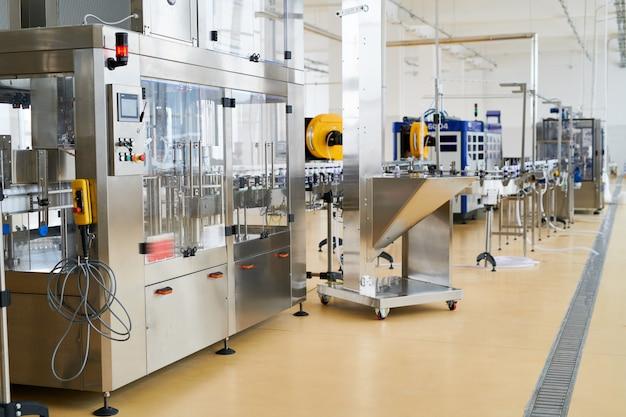 Proces pracy w nowoczesnej mleczarni